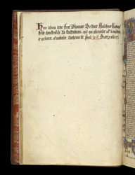 Donor Inscription, In Robert Holcot's 'Commentary On The Book Of Wisdom'